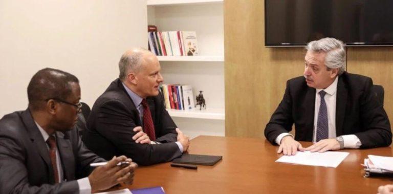 ALBERTO FERNANDEZ SE REUNIÓ CON EL FMI Y LO CULPO DE LA CRISIS