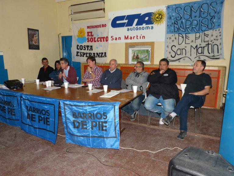 EL COLECTIVO HAMBRE NO SE PRESENTO EN SAN MARTÍN