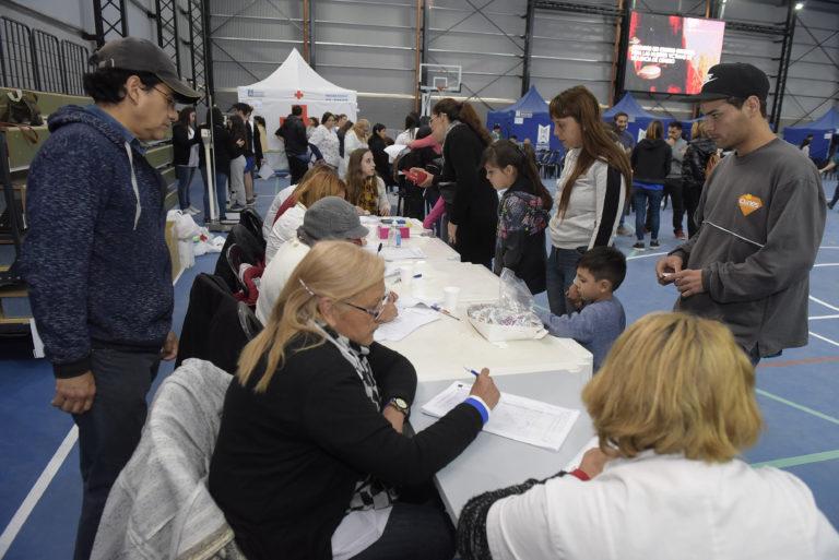MEGA OPERATIVO DE SALUD EN EL NUEVO POLIDEPORTIVO DE LOS POLVORINES