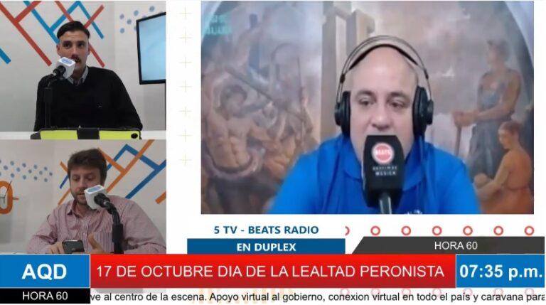 «NO HAY 17 DE OCTUBRE SIN LOS TRABAJADORES», RICARDO LOVAGLIO EN DUPLEX CON RADIO BEATS